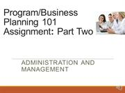 Unit 3A Business plan part two Final