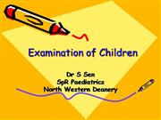 Examination of Children