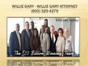 Willie Gary Lawyer - Willie Gary Attorney (800) 329-4279ney