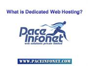 One Stop Solution for Dedicated Web Hosting