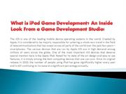 What is iPad Game Development? An Inside Look From a Game Development