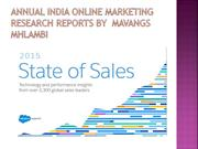 Annual-India-Online-Marketing-Research-Reports-by-Mavangs