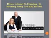 Divorce Attorney St. Petersburg - St. Petersburg Family Law