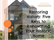5 Pitfalls to Avoid When Renovating a Historic