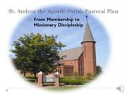 St. Andrew the Apostle Pastoral Plan 2015