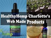 HealthyHemp charlotte's Web Made Products