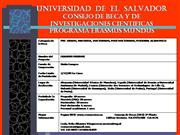 UNIVERSIDAD DE EL SALVADOR CONSEJO DE BE