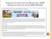Personal Injury Lawyer Vaughan - DMS Personal Injury Lawyer