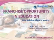 Franchise Opportunity in Education | Franchise Business India