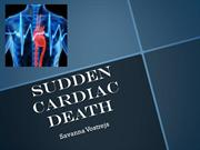 Sudden Cardiac Death Savanna V