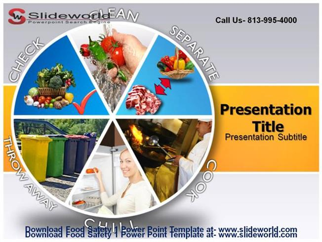 food safety 1 powerpoint template |authorstream, Modern powerpoint