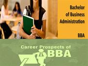 BBA Distance Education Distance University in India