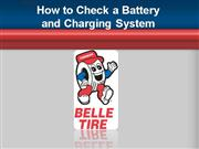 How To Check a Battery & Charging System