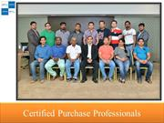 Certified Purchase Professionals