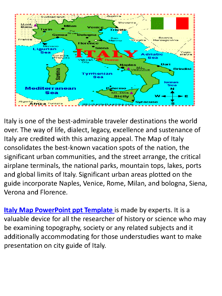 Powerpoint template for city map of italy authorstream powerpoint template for city map of italy toneelgroepblik Choice Image