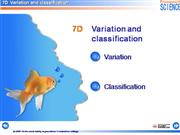7D Variation and Classification