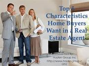 Top Qualities of Real Estate Agent