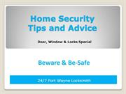 Best Home Security Tips & Advice