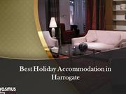 Best Holiday Accommodation in Harrogate
