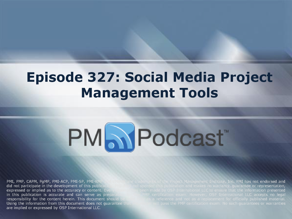 Episode 327social Media Project Management Tools Authorstream