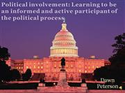 Political involvement3