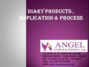 STARCH PRODUCTS-DAIRY INDUSTRY