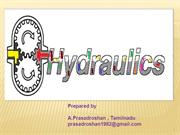 Hydraulic fundamental -1