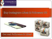 How to Buy instagram Likes and Followers UK