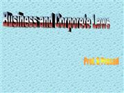 introduction to business legislations