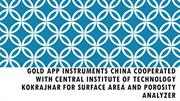 Gold APP Instruments China Cooperated with Central Institute of Techno