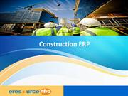 ERP for construction