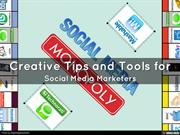 Creative Tips and Tools for Social Media Marketers