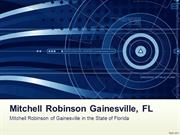 Mitchell Robinson Gainesville FL, Electrical, Engineering