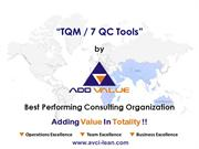 The Basics 7 QC Tools - ADDVALUE - Nilesh Arora