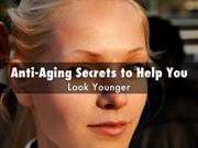 Anti Aging Secrets to Help You Look Younger, From Deepak Chopra
