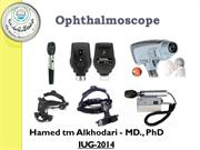 Ophthalmoscopy-Indirect New