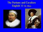 puritans and cavaliers