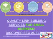 Get Quality Link Building Services For Small Business: Discover SEO Ad