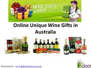 Unique Wine Gifts in Australia from Gifts 2 The Door