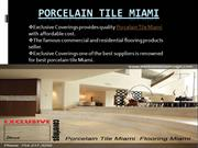 Porcelain Tile Miami by ExclusiveCoverings