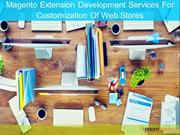 Magento Extension Development Services For Customization Of Web Stores