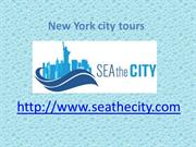 New York city tours Manhattan boat tour