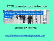 personal license cctv operator first aid at work courses london