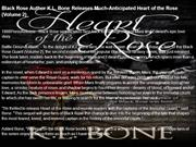 Black Rose Author K.L. Bone Releases Much-Anticipated Heart