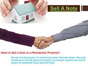 Sell A Note