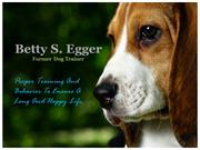 Betty S. Egger_Former Dog Trainer