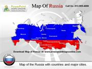 Download Editable  Map of Russia