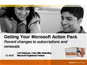 Renewing Your Action Pack Subscription