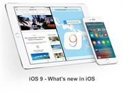 iOS 9 - What's new in OS