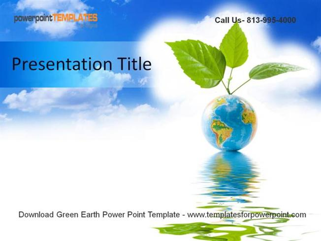 Green earth powerpoint template authorstream toneelgroepblik Image collections